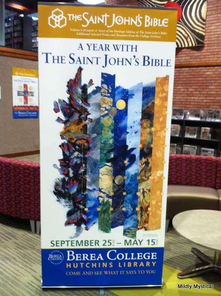 2014-10-11 St. John's Bible at Berea