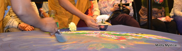 Sweeping the Sand Mandala