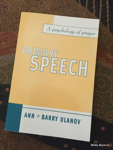 Primary Speech by Ann and Barry Ulanov