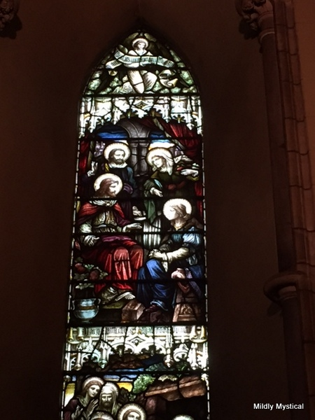 Mary and Martha with Jesus, St. Patrick's Cathedral, Dublin